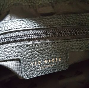 Ted Baker Bags - NWT TED BAKER BLACK PEBBLED LEATHER OVERSIZE TOTE